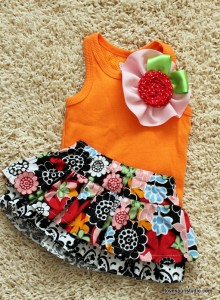Ruffled About Spring Tank and Ruffle Skirt