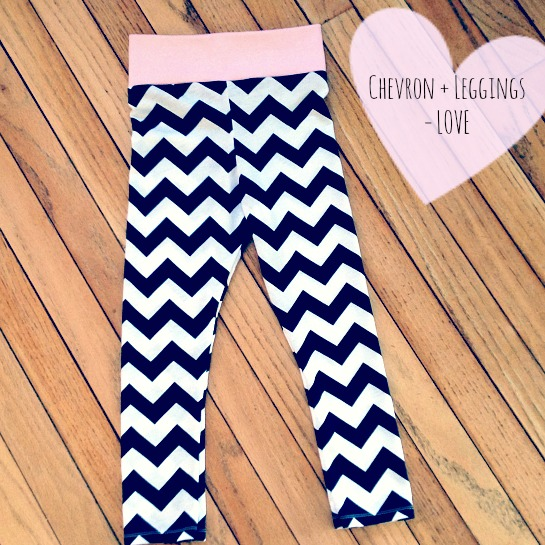 Chevron Legging Love