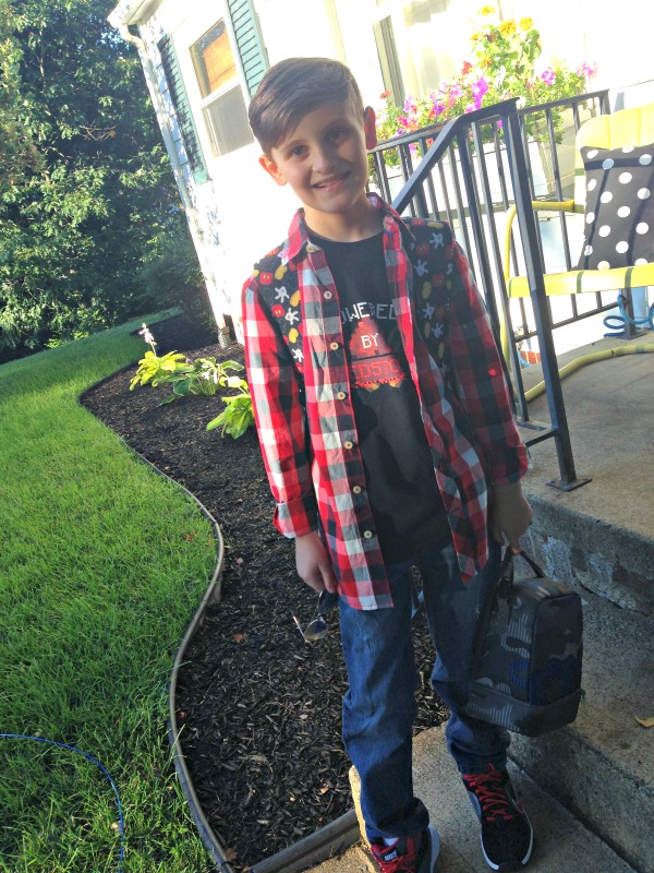 Peyton First Day of School 4th Grade 2014